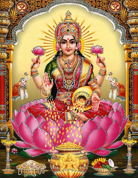 美と豊かさの女神ラクシュミー | Indian God in Yoga | yoggy magazine